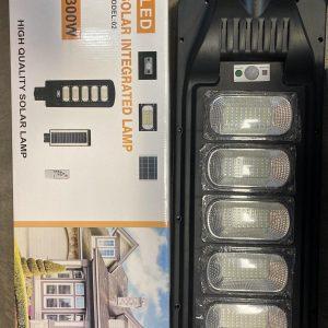 Соларна LED лампа със сензор за движение 300W