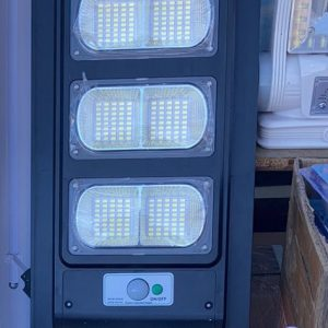 Соларна LED лампа със сензор за движение 360W (8 секции)