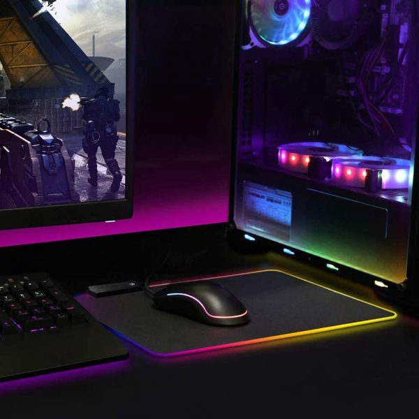 Осветителна RGB подложка за мишка