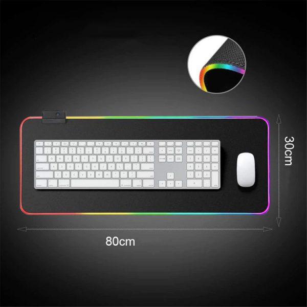 светеща LED подложка за клавиатура