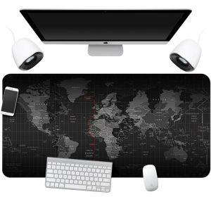 Подложка за лаптоп 90x40 см - Карта на света